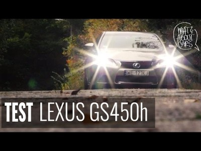 A TO CI NIESPODZIANKA !!! Lexus GS 450h 2015 test #23 WAC