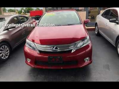 2010 Lexus HS 250h Ultra Premium for sale in TULSA, OK