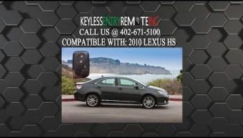 2010 lexus gs 350 key battery