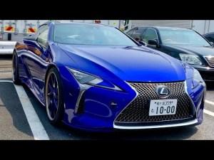 【ARaさんのLC500】鮮やかで美しい特別仕様車ストラクチュラルブルーをこだわりのパーツでカスタム‼️