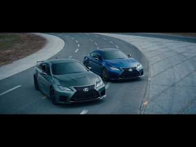 Lexus RC F Track Edition – Leap Ahead