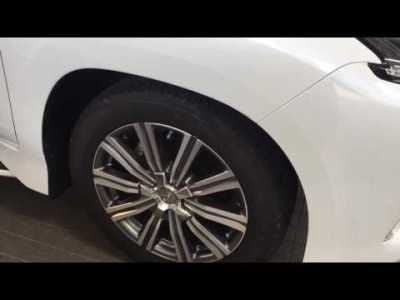 レクサスLX 乗降モード 自動車高調整機能