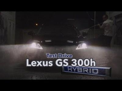 Test-Drive Lexus GS 300 HYBRID