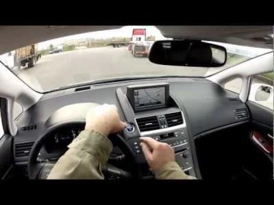 Test Drive Lexus HS250h Limited Edition Hybrid Blog