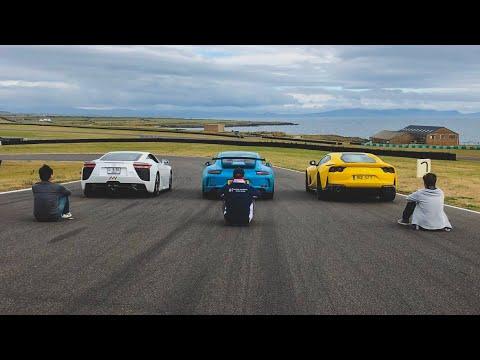 Lexus LFA, Porsche GT3 & Ferrari 812 Superfast – Take Your Pick!?