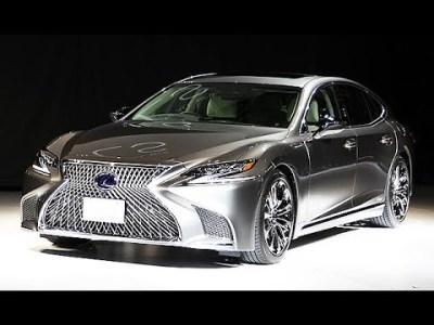 レクサス、新型「LS」日本初披露=11年ぶり全面改良、今秋発売