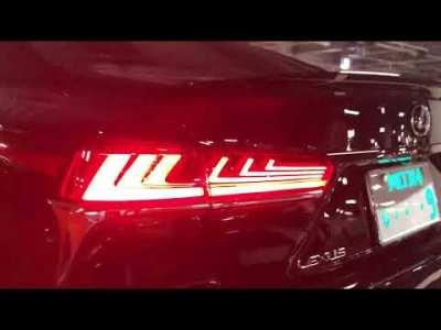 【レクサスLS500 Fスポーツ】トヨタ渾身のアグレッシブな外装とおもてなしの心を感じる内装を見てみました!