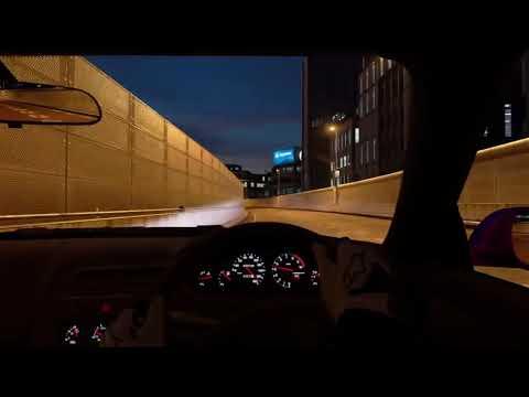 夜の首都高で遭遇したレクサスの幽霊 GTsport