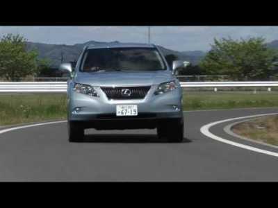 レクサスRX350/ついに日本でもレクサスのSUVが登場!2009年