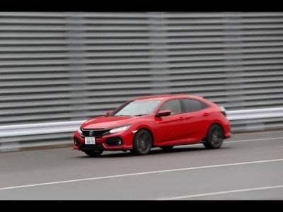 ホンダ シビック ハッチバック vs ルノー メガーヌ GT(加速&減速編)【DST♯120-01&02】