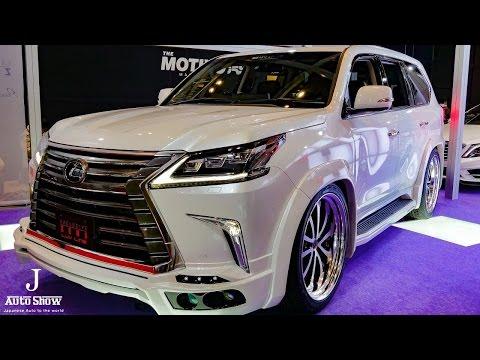 (HD)ZEUS LUV-LINE LEXUS LX570 modified レクサスLX570カスタムSUV – 東京オートサロン2017