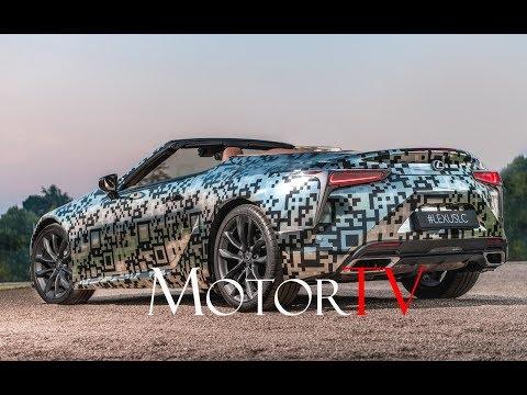 Lexus LC Convertible Prototype / 2019 Goodwood FoS / Trailer