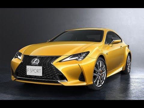 【レクサス新型RC最新情報】マイナーチェンジ2018年10月下旬日本発売!RC F GT / RC300h / RC350 / Fスポーツや価格、燃費は?