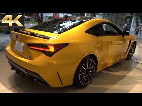 "2019 LEXUS RC F Interior Exterior – 新型 レクサス  RC F 2019年モデル""Carbon Exterior Package"""