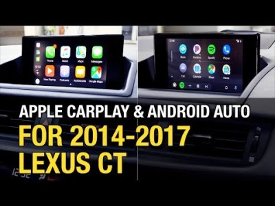 2014-2017 LEXUS CT Apple CarPlay Android Auto Install / Demo