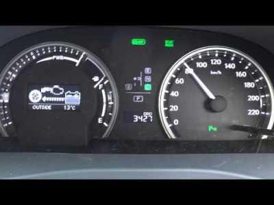 2013 New Lexus hs250h 0-100km加速 【Sport Mode】