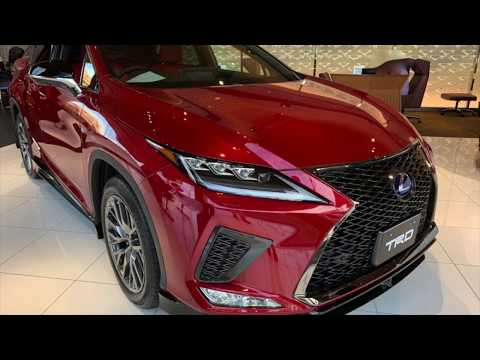 LEXUS RX(2020マイナーチェンジ)TRDエアロパーツ装置車!