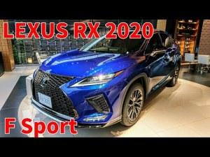 LEXUS RX 300 F Sport 2020 New model レクサス 新型 RX ヒートブルーコントラストレイヤリング