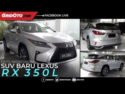 Perkenalkan SUV Baru Dari Lexus, RX 350L