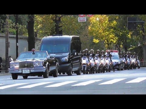 【祝賀御列の儀】レクサス車列からオープンカーまで超豪華撤収映像 Vehicles of The Emperor's parade