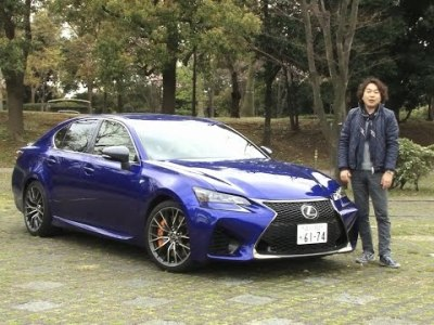 レクサス・GS F 試乗インプレッション 車両紹介編