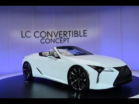 【デトロイトモーターショー2019】果たして市販化は? レクサスLCのオープンモデル「LC Convertible concept」【読み上げてくれる記事】