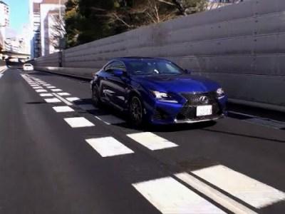 レクサス・RC F × BMW・M4クーペ 試乗インプレッション RC F走行編