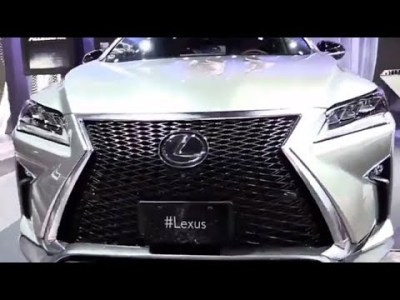 2019 Lexus RX 350 F Sport Edition. Best Selling Luxury SUV (2018)