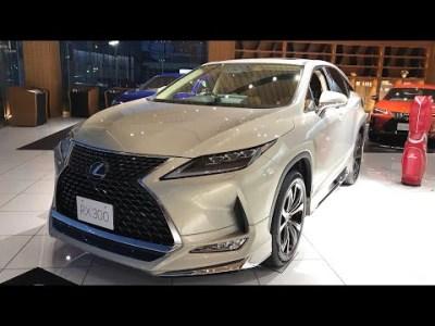 レクサス 新型 RX300 後期  展示車 ②