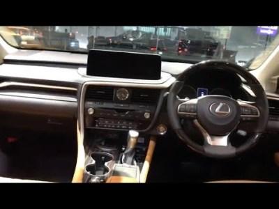 レクサス 新型 RX300 後期  展示車 ①