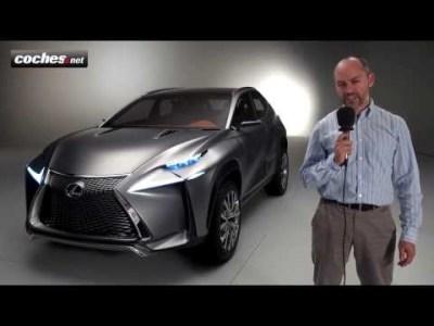 Lexus LF-NX Concept SUV – Exclusiva coches.net Frankfurt IAA 2013
