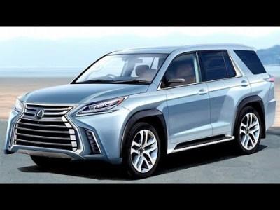 レクサス 新型 LX 2020年デビュー!新開発ラダーフレーム&電動化が目玉