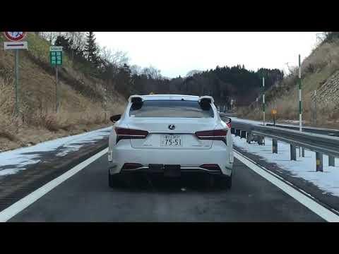 LEXUS LSがベース車のトヨタ自動運転テスト車が北海道の高速道路に!レクサス新型の自動運転開発車両