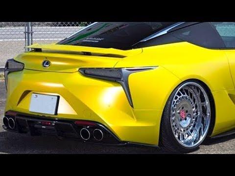 レクサス 新型 LC、極低スタンス仕様はすごいんだぞ !