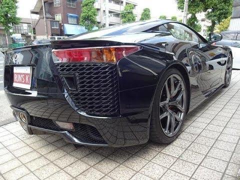 レクサスLFA 5300万円 国内最高級スポーツカー 赤黒コンビ内装 20インチクロームAW バックカメラ HDDナビ ベースグレード LEXUS