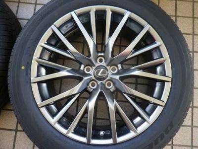 レクサス純正RX 450h Fスポーツ ブリヂストン DUELER H/L 33A 235/55R20 ハイグロス 新品同様 新車外し 全国発送可能 トヨタ純正 LEXUS純正