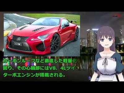 レクサスの新型車 日本発売!新型 LX・LF-1・LCコンバーチブル・LC F・LS F・IS!|車と人生24_7