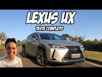 LEXUS UX: SUV mais barato que o Toyota RAV4 e faz inveja ao novo Corolla | TESTE COMPLETO