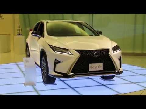 新型LEXUS RX の素晴らしい完成度!
