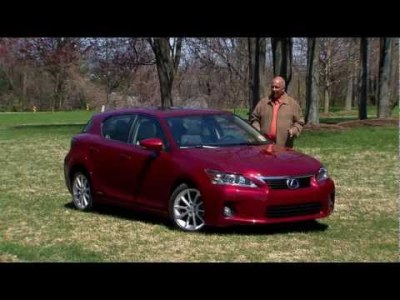 Road Test: 2011 Lexus CT 200h