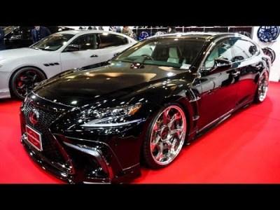(4K)WALD LEXUS LS500 F-Sport Executive Line ヴァルド レクサスLS500 Fスポーツ – OSAKA AUTO MESSE 2019