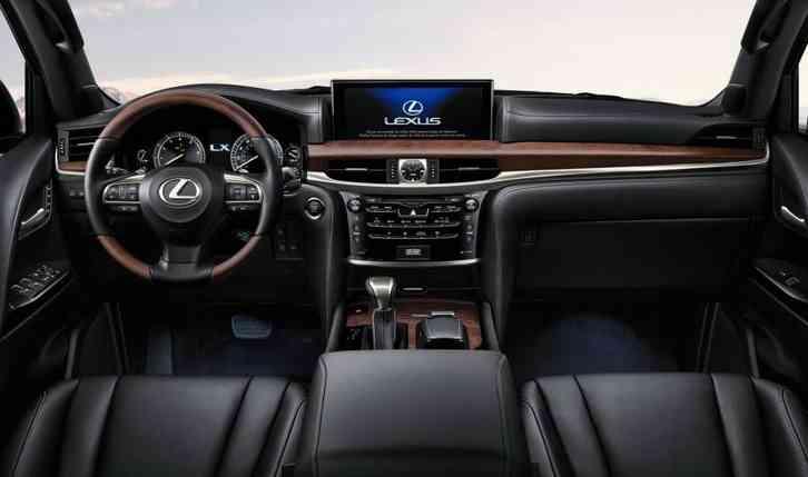 lexus 570 lx 2022 lows Fuel efficient it is not
