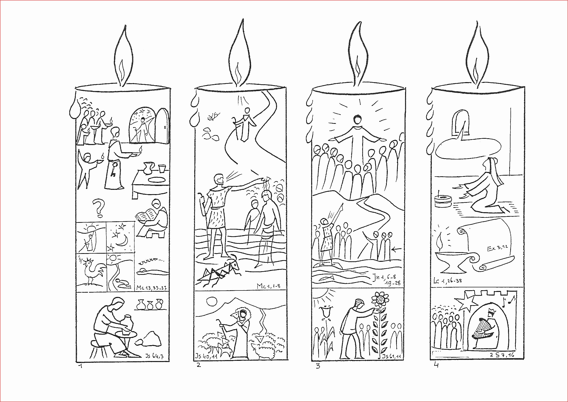 Advent Printable Worksheets