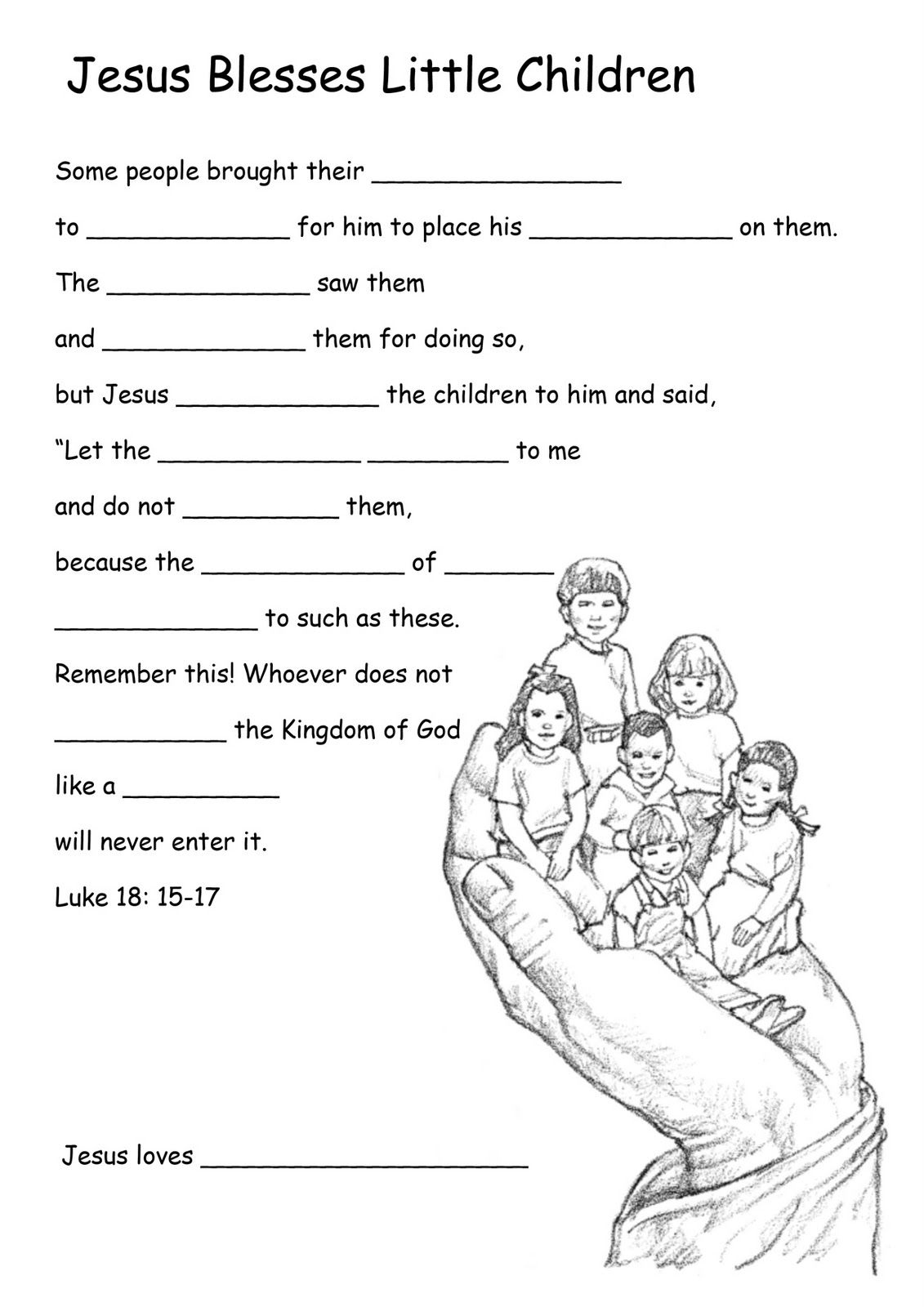 Image Result For Worksheet Miracles Of Jesus