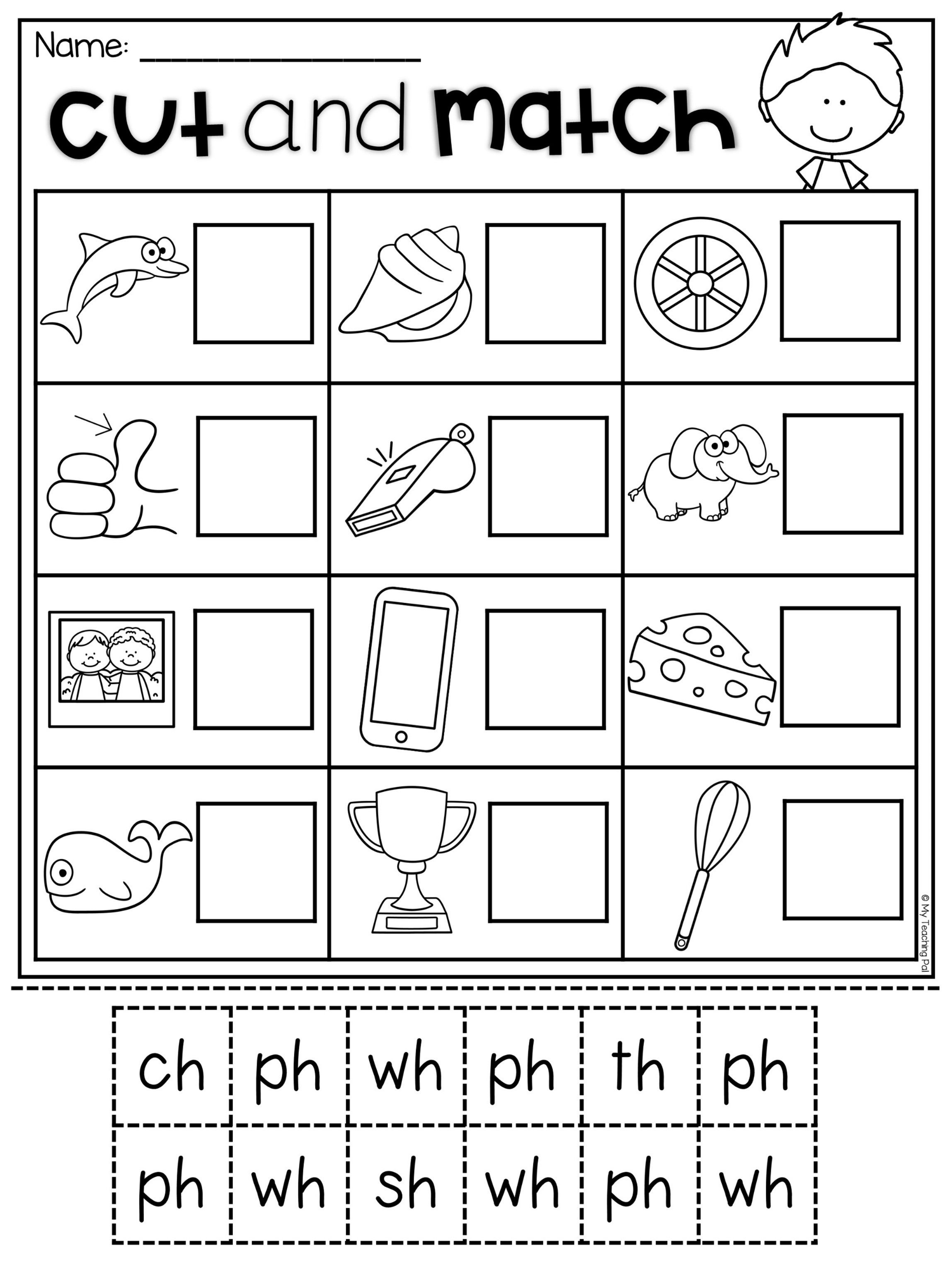Digraph Worksheet Packet
