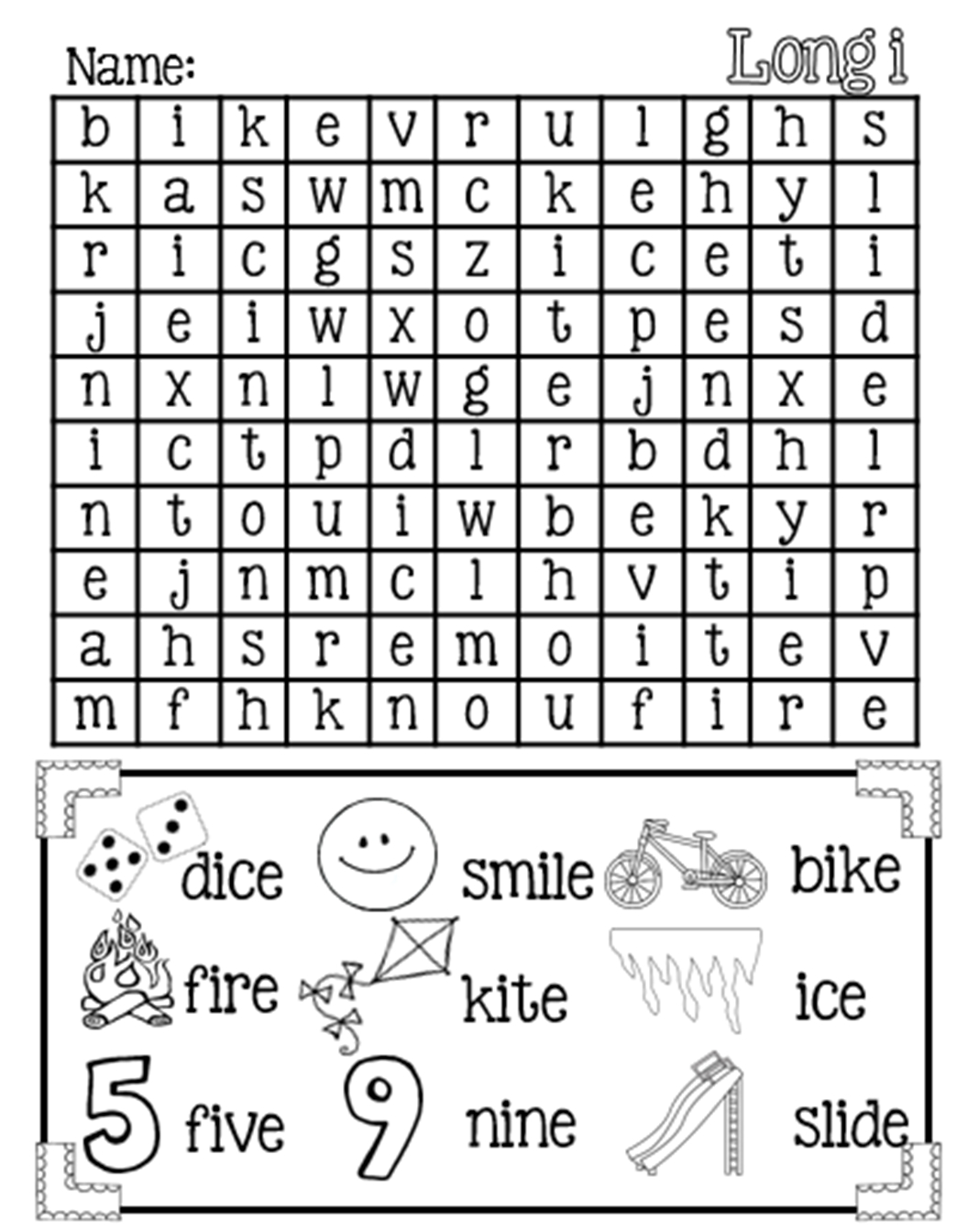 Magic E Worksheets Free Printable