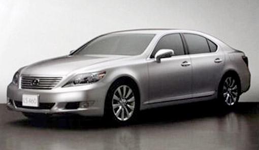 2010 Lexus LS 460/460L Front
