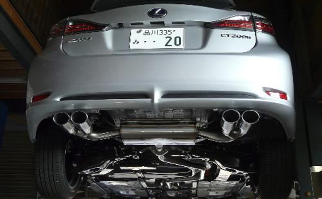 Lexus Ct 200h Exhaust System By Tom S