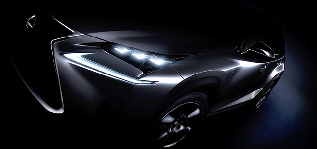 Lexus NX Compact Crossover Teaser