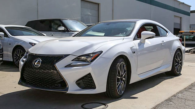Photo Gallery Ultra White Lexus RC F In California